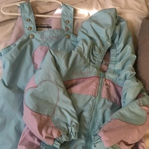 Toddler Columbia Coat and Snowpants